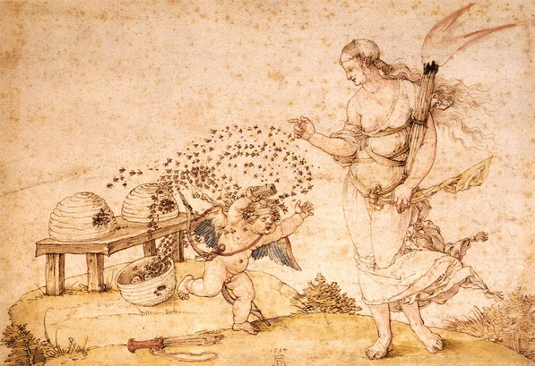 Proper punishment: This is Albrecht Durer's The Honey Thief