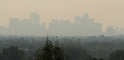 Calgary - a smoker's haven.