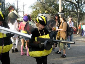 Killer bees are notoriously tough. )