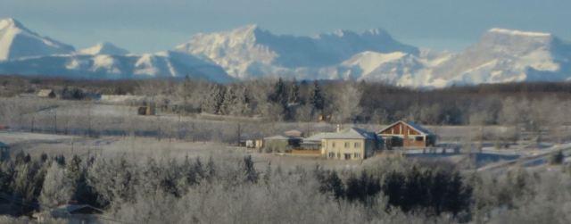 Bragg Creek farmhouse