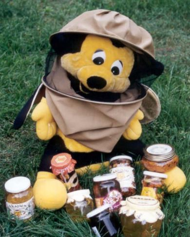 benny with honey