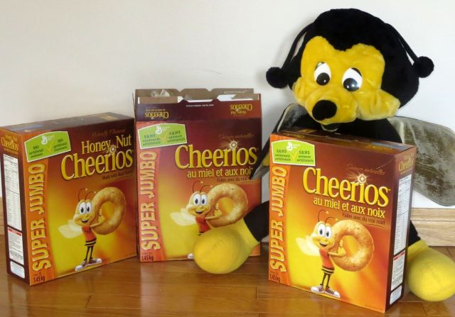 Benny with Cheerios