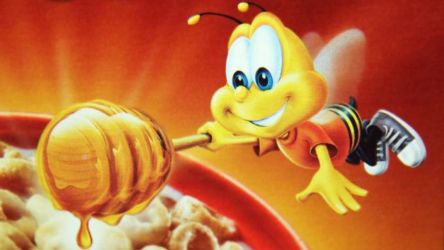 Buzz sweetens cereal