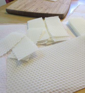 wax rectangles