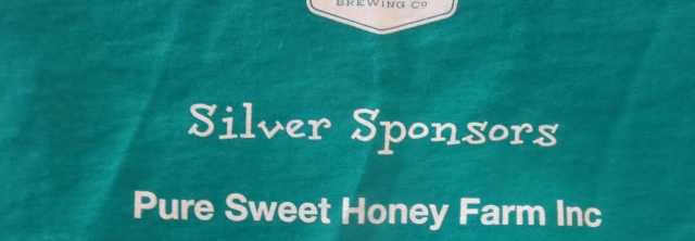 Pure Sweet Sign on shirt