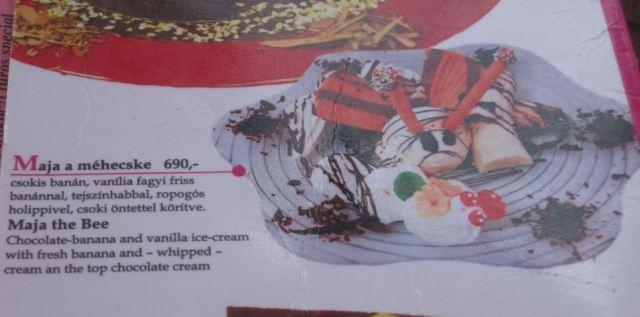 hungarian ice cream restaurant