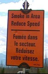 Smoke Warning